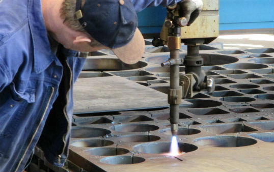 CNC flame and plasma cutting