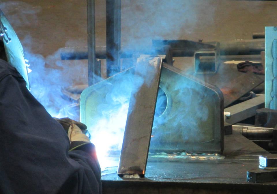 MAG welding bracket