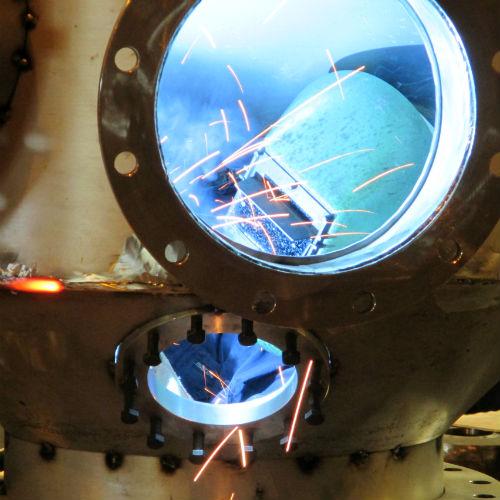 Electrode welding