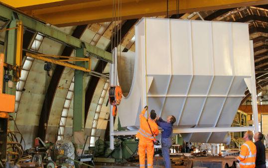 Welded steel constructions