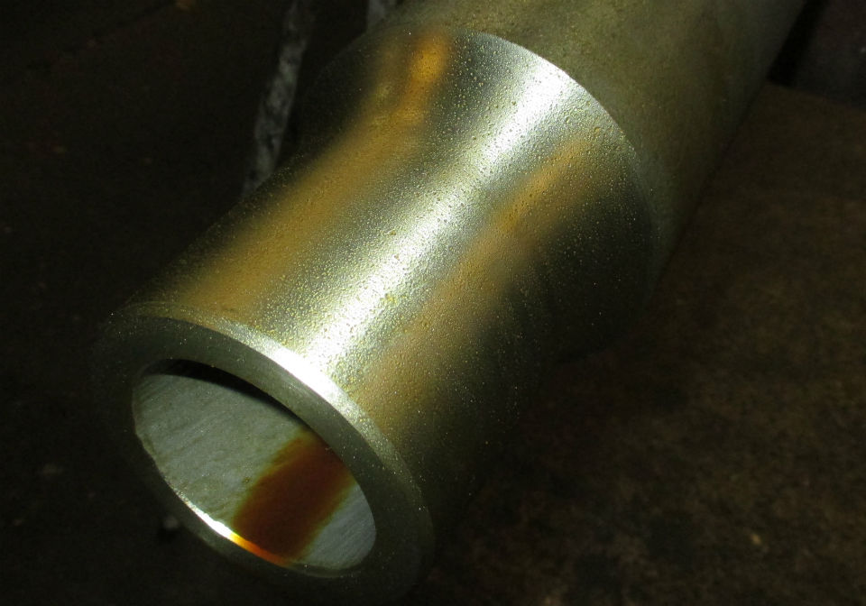 Pipe for cooling insert