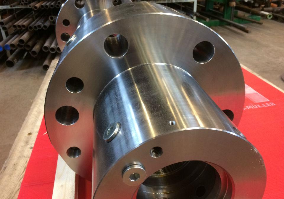 CNC bearbedet topdæksel